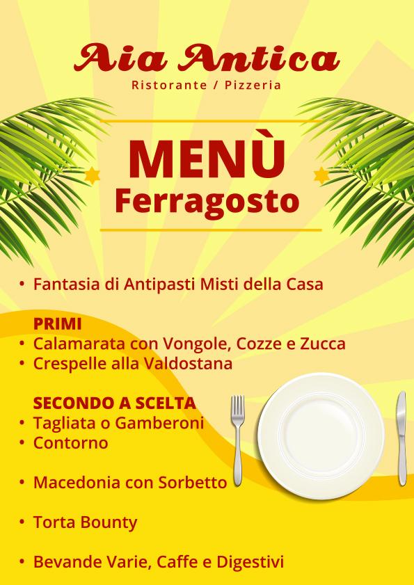 Aia Antica - Menù di Ferragosto 2018 - A4 - STAMPA